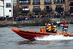 Lifeboat during the Boat Race in spring 2013 (3).JPG