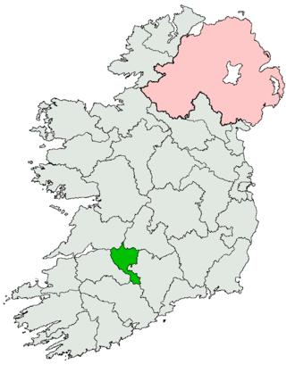 Limerick East (Dáil Éireann constituency) - Image: Limerick East Dáil constituency 1961 1969