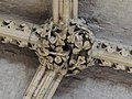 Lincoln Cathedral, Angel Choir Roof Boss, 3rd from East (27884576649).jpg