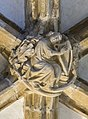 Lincoln Cathedral Slype Roof Boss, 10th from South (38433152120).jpg