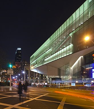 Alice Tully Hall - Alice Tully Hall, seen from Broadway