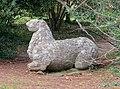 Lion - Parco dei Mostri - Bomarzo, Italy - DSC02700.jpg