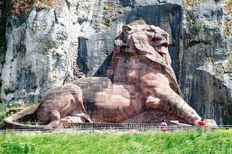 Frédéric Auguste Bartholdi - Image: Lion de Belfort