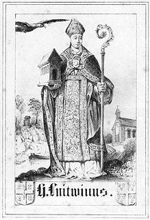 Leudwinus Frankish Count of Treves who became Archbishop of Treves and Bishop or Laon and Reims.