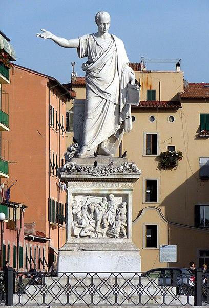 File:Livorno Monumento Ferdinando III Piazza Repubblica.jpg