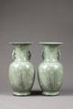 Ljusgröna vaser gjorda i Kina på 1700-talet - Hallwylska museet - 96148.tif