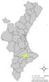 Localització de Benasau respecte el País Valencià.png