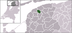 Vị trí của Leeuwarderadeel