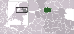Location of Staphorst