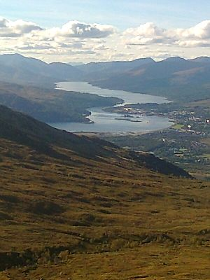 Loch Eil - Loch Eil and head of Loch Linnhe from the slopes of Carn Mòr Dearg.