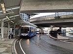 Logan Airport Shuttles at Airport station, August 2015.JPG