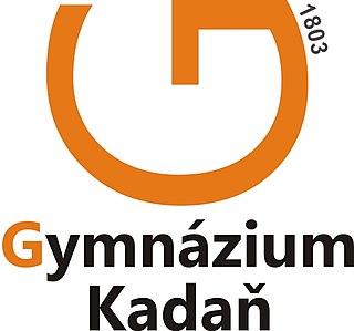 Gymnasium Kadaň school in Kadaň, Ústí nad Labem Region, Czech Republic