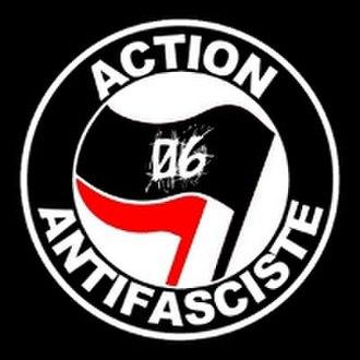 Post-WWII anti-fascism - Image: Logoantifa 066