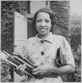 Lois Jones, artist and teacher - NARA - 559227.tif