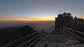 Lomnicky stit observatorium rano.jpg
