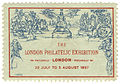 London Philatelic Exhibition 1897 souvenir stamp.jpg