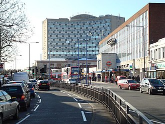 Morden - Image: London Road, Morden geograph.org.uk 674888
