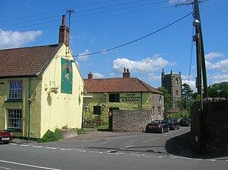 Long Ashton village in the United Kingdom
