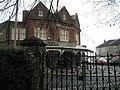 "Looking through Kingston Cemetery gates to ""The Mermaid"" - geograph.org.uk - 769665.jpg"