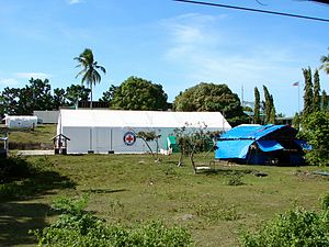 2013 Bohol earthquake - Field hospital, Loon