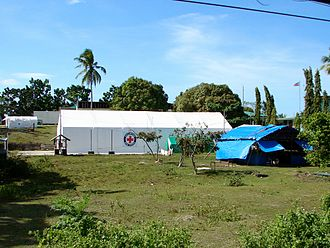 2013 Bohol earthquake - Field hospital, Loon