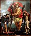 Lorenzo lotto, Santi Cristoforo, Rocco e Sebastiano, 1532-1534 circa, 00.jpg