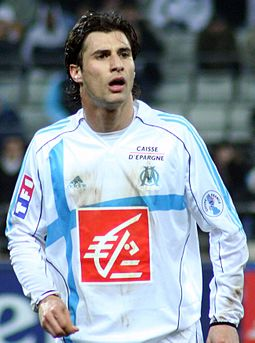 Lorik Cana is Albania's most capped player of all time. He captained the French Olympique de Marseille, as well as the Albanian national team. Lorik cana crop.jpg