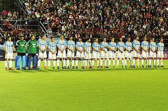 Argentina men's national field hockey team - Los Leones in 2015.