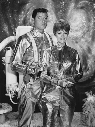 Guy Williams (actor) - Williams and June Lockhart in Lost in Space