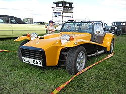 Lotus Seven Series 4, 1970 to 1973