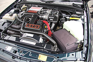 Lotus Carlton - Image: Lotus Carlton engine Flickr exfordy