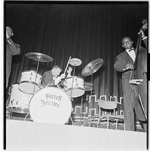 Barrett Deems - Image: Louis Armstrong til Oslo og konserter L0062 965Fo 30141701300061