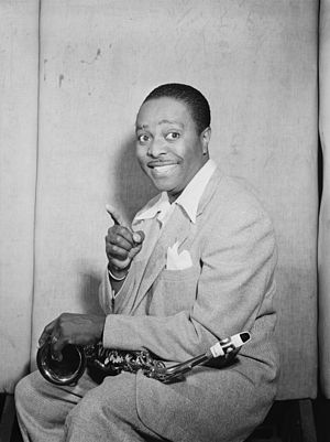 Louis Jordan - Jordan in New York, about July 1946