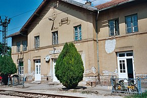 Lovćenac village, Vojvodina, Serbia, train station.jpg