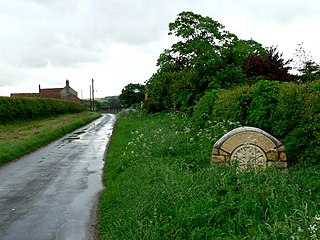 Everthorpe Hamlet in the East Riding of Yorkshire, England