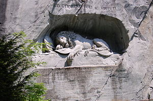 Lion Monument - A closer view