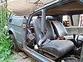 """Lublin - zdelezowany """"Maluch"""" Fiat 126p (05) - DSC00409.jpg"""
