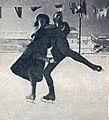 Ludowika et Walter Jakobsson, vice-champions olympiques de patinage en couple à Chamonix en 1924.jpg