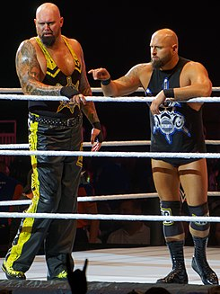 Luke Gallows and Karl Anderson in September 2016.jpg