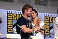 Luke Hemsworth & Angela Sarafyan (35831011360).jpg