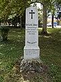 Lumniczer utca 10, János Gräf obelisk, 2019 Kapuvár.jpg