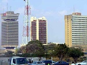 Innenstadt von Lusaka