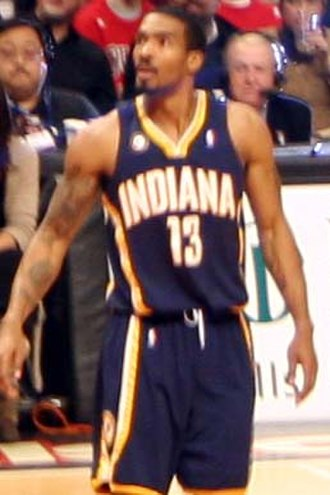 Luther Head - Head with the Pacers in December 2009.