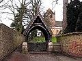 Lych gate, Whixley Church - geograph.org.uk - 177554.jpg