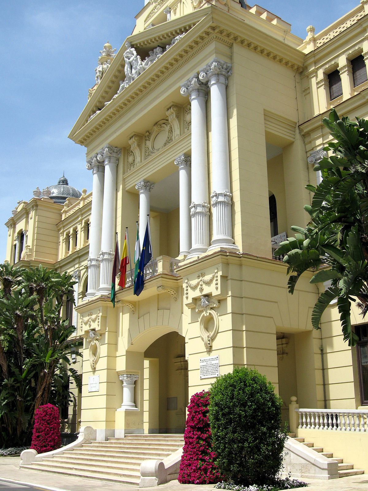 Casa consistorial de m laga wikipedia la enciclopedia libre - La casa del parque ...