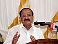 M. Venkaiah Naidu addressing the Civic Reception meeting being organised in honour of His Grace Dr. Philipose Mar Chrysostom & inaugurate the diamond jubilee celebrations of Holy Ordination of the Most Rev. Dr. Joseph Mar.JPG