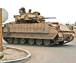 M2 Bradley en Irak