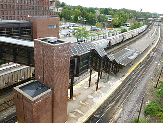 Lowell Line - Lowell is the current outer terminus