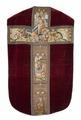 MCC-19207 Rood kazuifel met verrijzenis, geboorte Christus, diverse heiligen en wapens (1).tif