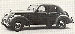Kazimierz Piechowski - Steyr 220, similar to car used in the escape